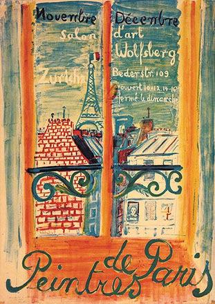 Wehrlin Robert - Peintres de Paris