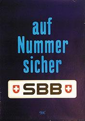 Leupin Herbert - SBB - Auf Nummer sicher