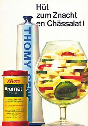 Aeppli Christoph - Knorr Aromat - Thomy Senf