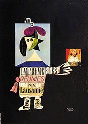 Leupin Herbert - Imprimeries Réunies SA Lausanne