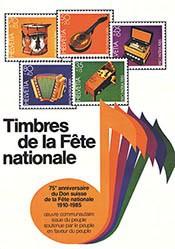 Anonym - Timbres de la Fête nationale