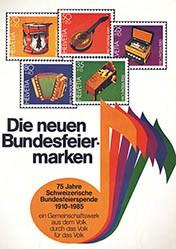 Anonym - Die neuen Bundesfeiermarken