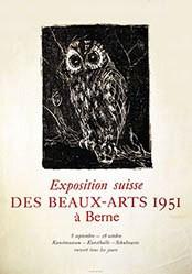 Fischer Hans - Exposition suisse des beaux-arts à Berne