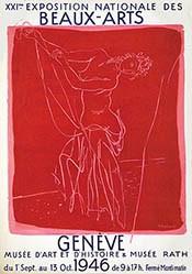 Barraud Maurice - Exposition des nationale des beaux-arts Genève