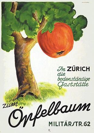 Anonym - Gaststätte zum Öpfelbaum