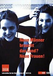 GGK Werbeagentur - SBB - Neue Männer braucht das Land? Neue Frauen!