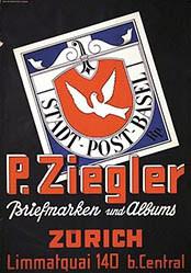 Nänny Werner - P. Ziegler Briefmarken