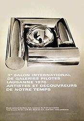 Buttet Francine - Salon de Galeries Pilotes Lausanne