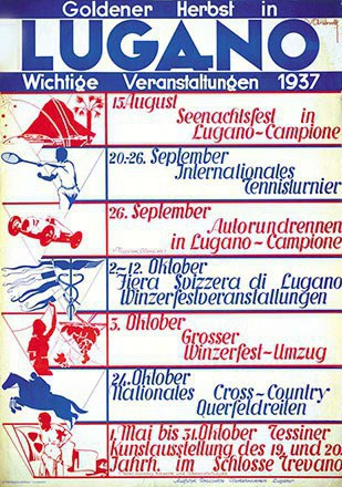 Andreoli V. - Goldener Herbst in Lugano