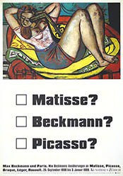 Wirz - Matisse?, Beckmann?, Picasso?