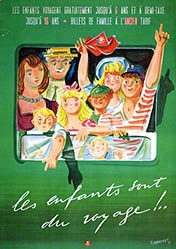 Monnerat Pierre - CFF - Les enfants sont du voyage!