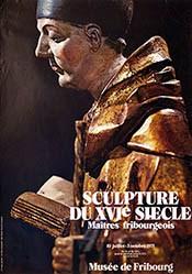 Aeby J. Ch. - Sculpture du XVIe siecle - Maitres fribourgois