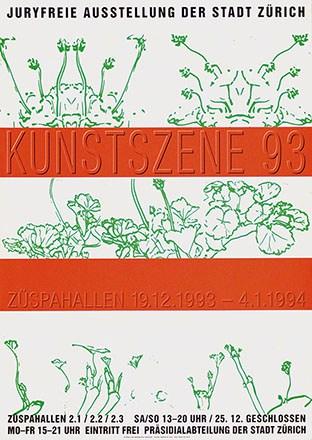 Radelfinger / Zimmermann - Kunstszene 93 - Züspahallen Zürich