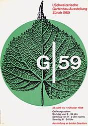 Fässler Franz - G 59 Gartenbau-Ausstellung Zürich