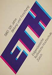 Bangerter Walter - 125 Jahre Bildung und Forschung ETH
