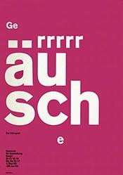 Staehelin Georg - Geräusche - Ein Hörspiel