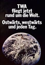 Wirz Adolf AG - TWA fliegt jetzt rund um die Welt