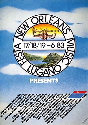 Anrig & Lion - Festa New Orleans Music Lugano