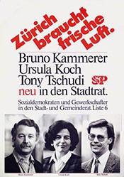 Kammerer Bruno - Zürich braucht frische Luft