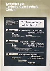 Baltis und Rüegg - Tonhalle-Gesellschaft Zürich