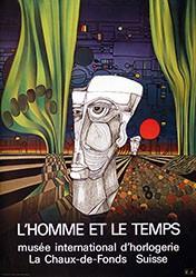 Hundertwasser Friedensreich - L'homme et le temps