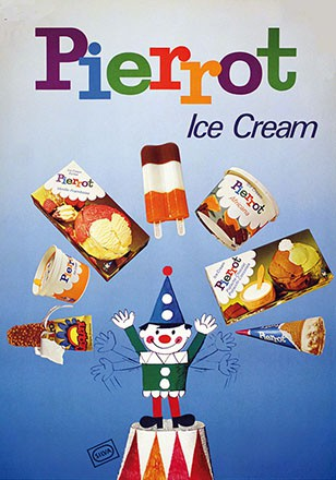 Anonym - Pierrot Ice Cream