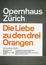 Müller-Brockmann Atelier - Die Liebe zu den drei Orangen