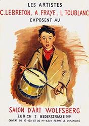 Le Breton Constant -  Les artistes - C. Lebreton, A.Fraye, L.Toublanc