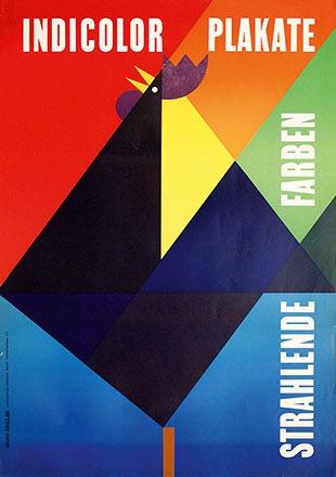 Kessler Bruno - Indicolor Plakate