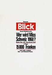 Anonym - Grosser Blick-Leserwettbewerb
