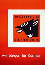 Anonym - Metzgermeister der Stadt Zürich