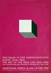 Diethelm Walter Atelier - Der Raum in der amerikanischen Kunst