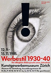 Staehelin Georg - Werbestil 1930-1940