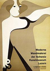 Tschumi Otto - Moderne Wandmalerei der Schweiz