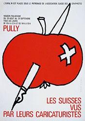Besson Pascal - Les Suisses vus par leurs caricaturistes
