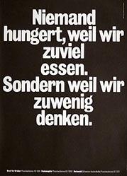 Anonym - Niemand hungert (...)