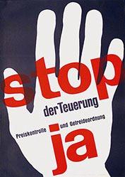 Flückiger Adolf - Stop der Teuerung