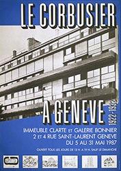 Vitamine Publicité - Le Corbusier à Genève