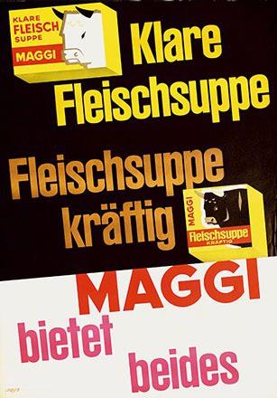 Looser Hans  1961  - Maggi - Klare Fleischsuppe