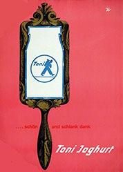 Monogramm T.W. - Toni Joghurt