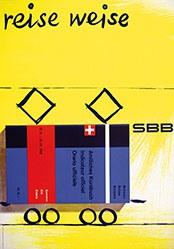Christen Werner  - SBB - Reise weise