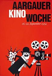 Monogramm A.B. - Aargauer Kinowoche