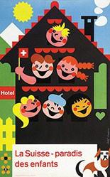 Rappaz Rolf - La Suisse - Paradis des enfants