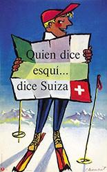 Monnerat Pierre - Quien dice esqui .. dice Suiza