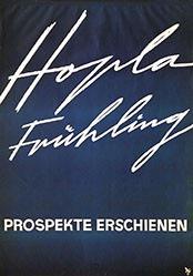 Diggelmann Alex Walter - Hopla Frühling - Hotelplan