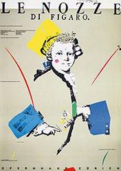 Geissbühler Karl Domenic - Le Nozze di Figaro