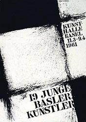 Hiltbrand Robert - 19 junge Basler Künstler