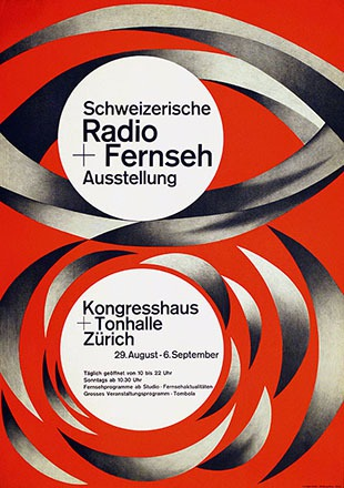 Honegger-Lavater Gottfried - Radio + Fernseh Ausstellung