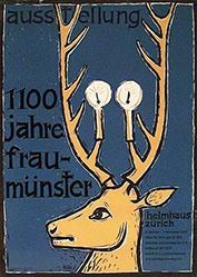 Baumgartner Kobi - 1100 Jahre Fraumünster