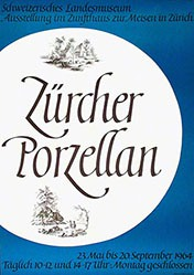 Käch Walter Atelier - Zürcher Porzellan